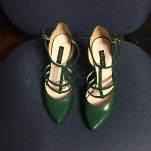 Escade Greeen Heeled Shoes